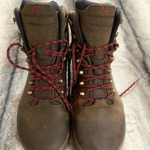 { Vivobarefoot } Tracker FG Dark Brown Boots